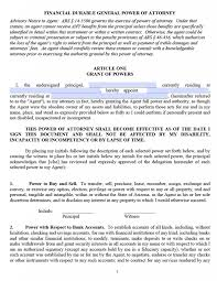Free Durable Power Of Attorney For Health Care Form by Free Durable Power Of Attorney Arizona Form U2013 Pdf