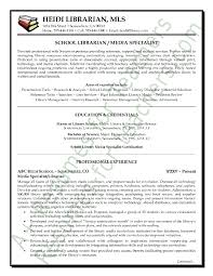 Resume Format For Teachers Job by Media Librarian Resume Sample Page 1