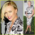 Charlize Theron: Fashion Night Out with Dior | Charlize Theron ...