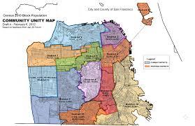 San Francisco Bart Map Neighborhood Map Of San Francisco Michigan Map