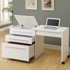 Modern White Office Desks Office Furniture Modern Office Desk Furniture Medium Vinyl Wall