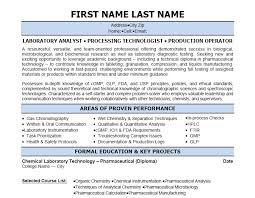 Chemist Resume Samples by 12 Best Best Pharmacy Technician Resume Templates U0026 Samples Images