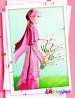 Gambar Kartun Gadis Berjilbab Wallpaper