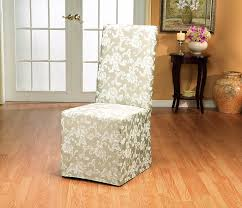 amazon com sure fit scroll dining room chair slipcover