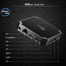 x96mini android 7 1 2 tv box amlogic s905w 2gb 16gb eu sales