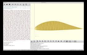 openscad uiuc airfoil coordinates database