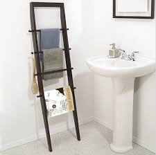 Over The Toilet Ladder How To Create More Storage Space In The Bathroom Apartment Therapy