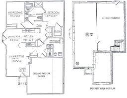 Garage Floor Plans Free Download Townhouse Floor Plans 2 Bedroom Buybrinkhomes Com