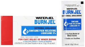 waterjel 2421 water jel unit dose burn gel 3 5 gm packet pack of