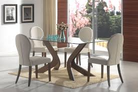 Contemporary Dining Room Table by Glass Modern Dining Table Modern Glass Dining Tables The Media