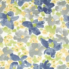 Furniture Upholstery Fabric by Grey Yellow Upholstery Fabric Abstract Grey Blue Floral