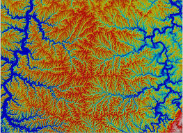 Map Of The Ohio River by Calculate How River Networks Move Across A Landscape