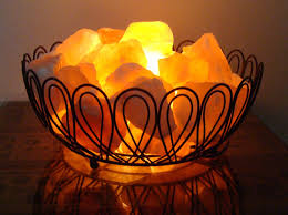 Himalayan Salt Light by Himalayan Salt Lamp Basket Lighting And Ceiling Fans