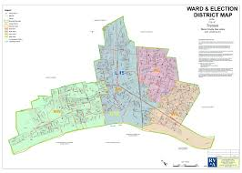 Map Nj 2012 Election Map With New Districts And Wards City Of Trenton