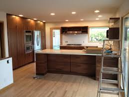 Kitchen Cabinets Inside Kitchen Charming Walnut Kitchen Cabinets Walnut Veneer Kitchen