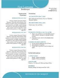 Sample Bookkeeping Resume by Simple Resume Template U2013 39 Free Samples Examples Format