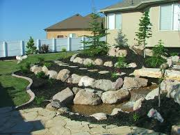 landscaping with rocks landscape pictures chris jensen rock wall