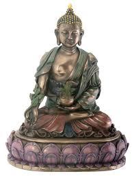 amazon com buddhist healing medicine religious figurine home