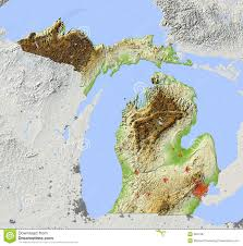 Detroit Michigan Map by Detroit Stock Illustrations U2013 411 Detroit Stock Illustrations