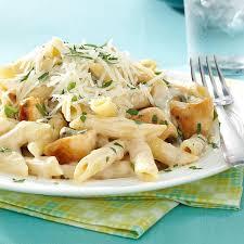 Pasta Recipes Penne Gorgonzola With Chicken Recipe Taste Of Home