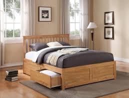 bed frames queen platform bed with storage king size storage bed