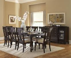 casual dining room with inglewood 5 pieces espresso dining room