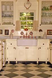 Old Wooden Kitchen Cabinets Kitchen Excellent U Shape Kitchen Decoration Using Red Cherry