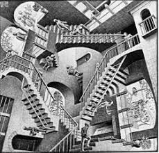 M.C. Escher Staircases