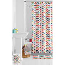 Multi Colored Bathroom Rugs Mainstays Shower Curtains Walmart Com