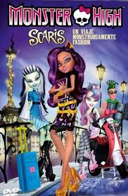 Monster High Scaris: Un viaje monstruosamente fashion (TV)