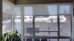 motorized window shades installation youtube