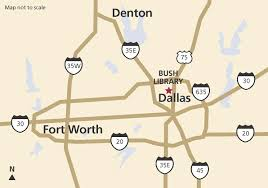 Map Of Dallas Fort Worth Airport by Directions U0026 Parking The George W Bush Presidential Library And