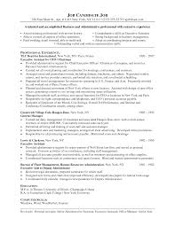 Medical Office Assistant Resume Examples by Back Office Executive Resume Sample Resume For Your Job Application