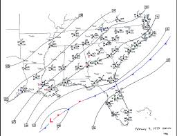 Map Of Lakeland Florida by The Great Southeastern Snowstorm February 9 11 1973
