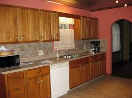 Paint Colors For Kitchen Walls With Oak Cabinets Kitchen Paint Colors With Oak Cabinets Kitchen As Red Wall Kitchen