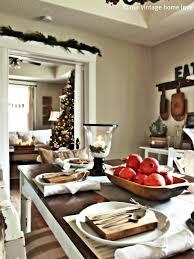 Diy Home Decor Ideas South Africa Our Vintage Home Love Christmas Table Decor Ideas