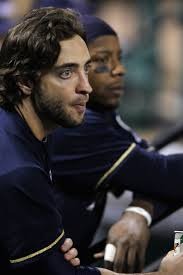 (L-R) Ryan Braun #8 and Rickie Weeks #23 of the Milwaukee Brewers look on dejected from the ... - Ryan%2BBraun%2BMilwaukee%2BBrewers%2Bv%2BSt%2BLouis%2BCardinals%2BC4dV25Aju4rl