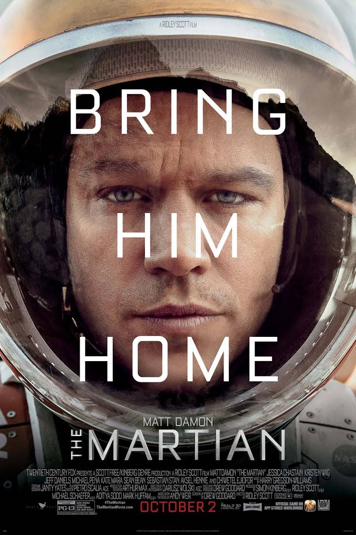 The Martian is Obama's best movie of 2015