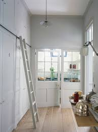 plain english pantry with wood glazed screens www