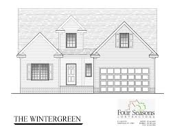 House For Plans by The Wintergreen Four Seasons Contractors 252 462 0022