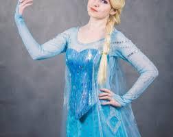 Frozen Halloween Costumes Adults Elsa Dress Etsy