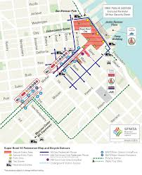 Sf Metro Map by Getting Around During Super Bowl 50 Sfmta