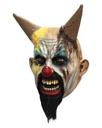 horror clown mask cream nasty halloween masks karneval universe