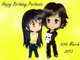 Happy   th Birthday Pacthesis  by Cece     Pacthesis   DeviantArt