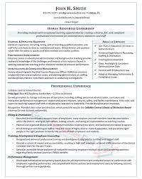 Resume Sample For Human Resource Position by Executive Resume Samples Professional Resume Samples