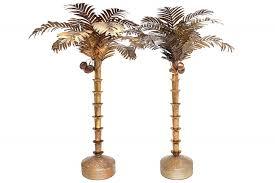 huge palm tree floor lamp