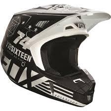 white motocross helmets fox racing 2016 v2 union helmet white available at motocross giant