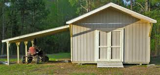 Free Saltbox Wood Shed Plans by Storage Shed With Carport Cardinal Buildings Storage Buildings