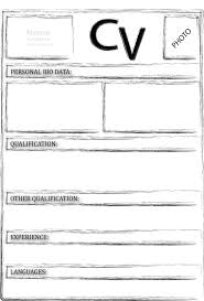 teaching cv template job description teachers at school cv example     Template net