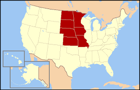 Stati centrali del nord-ovest